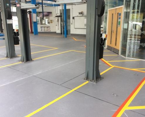Workshop Safety Markings