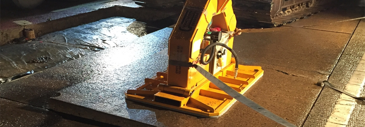 Vacuum Lifting Plate