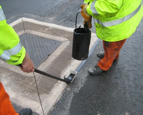 Crack & Joint Repairs - LMS Highways | Offering a high