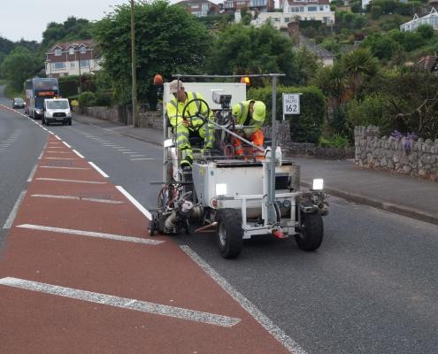 Extruder Road Marking