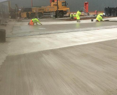 Warehouse & Distribution Brushed Concrete