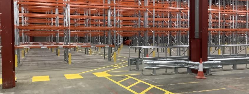 Warehousing Internal Safety Markings