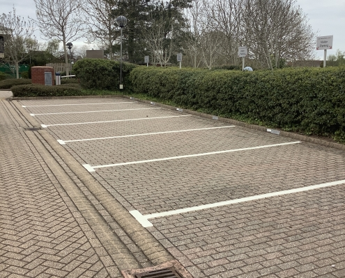 Accountants car park markings