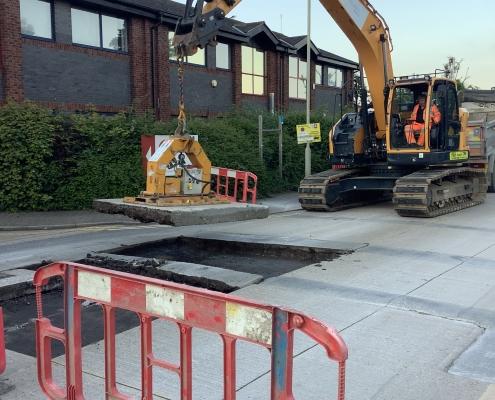 Concrete Bay Removal